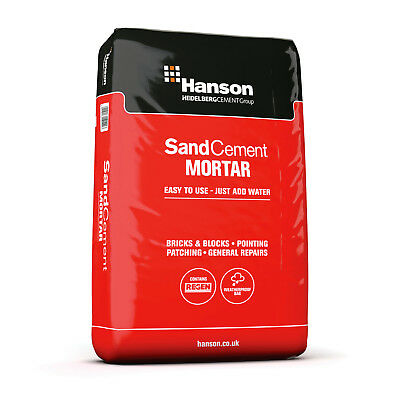 Ready 2 Mix Hanson Maxi Pack Sand & Cement Mortar 20Kg Just Add Water