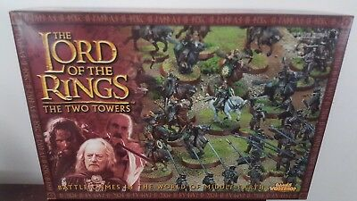 Lord of the Rings miniatures The Two Towers starter set box Games Workshop