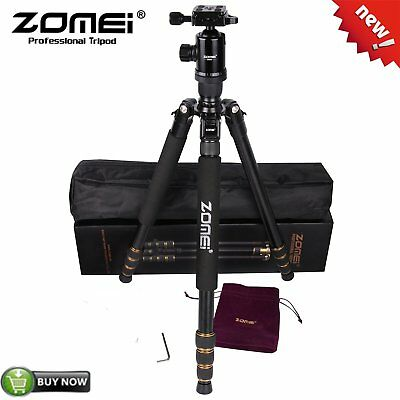 ZOMEI Z688 Portable Pro Aluminum Tripod Monopod+ Ball Head Travel DSLR Camera EK