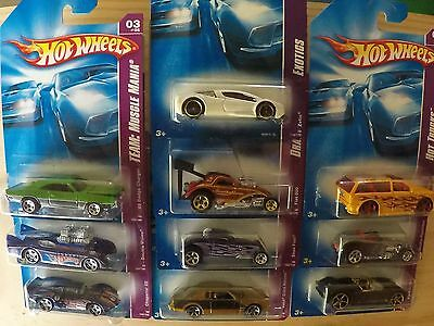 10 x Hot Wheels, RARE - Ford Racing - Drag