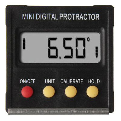 15X(Digital Protractor Angle Finder Level Inclinometer Magnetic 0~360 Degree W3H