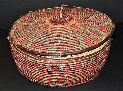 Harari Antique  Basket Ethiopia