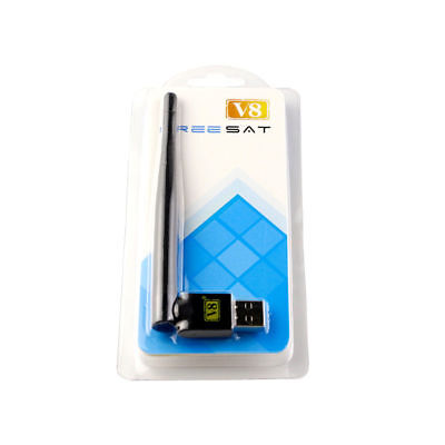 RT5370 Freesat V8 USB WiFi Wireless Antenna Dongle Adapter For Freesat V8 V7 HD