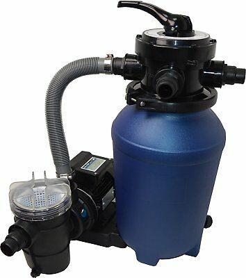 Sand Filter System Pool Sand Filter with Pump 8 m³ and Pre-Filter Splash 250