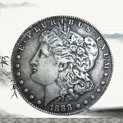 Great souvenir valuation Morgan item 1888 Silver coin collection Brand new & Hot