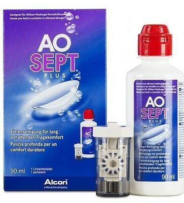 SONDERPREIS: AOSept Plus 90ml Reiseset (4,33 EUR / 100 ml) EXP 2018/03