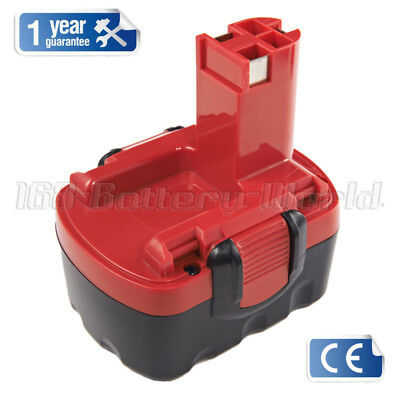 14.4V 1.5Ah Replace Battery for Bosch 2607335275 2607335533 BAT140 AHS41 PSR1440
