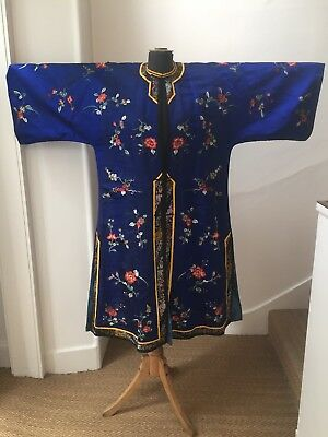 Antique Chinese/Japanese Silk Robe