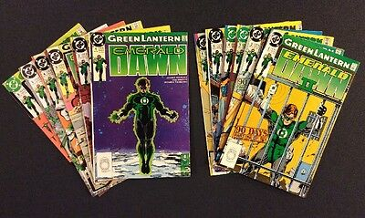 GREEN LANTERN EMERALD DAWN #1 - 6 Comic Books EMERALD DAWN II #1-6 DC 1989 F-VF