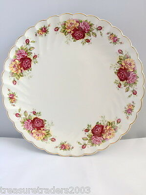 🌟 Myott ' Rose Garden ' Cake Or Sandwich Plate  Display Only