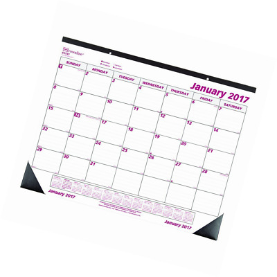 Brownline 2017 Monthly Desk Pad,   22 x 17 inches (C1731-17)