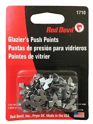 Red Devil Glazier's Push Points 55 Pack Framing Made in USA