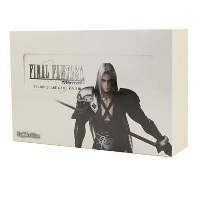 Final Fantasy Trading Card Game: Opus 3 III Collection Booster Box TCG English -