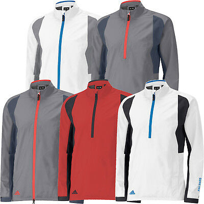 Adidas CLEARANCE Gore Tex Waterproof Golf Rain Jacket - Half Zip & Full Zip