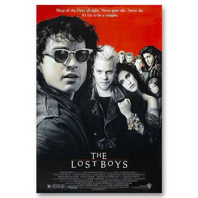 The Lost Boys Movie Canvas Vintage Posters Art Prints Decor 8x12 24x36inch