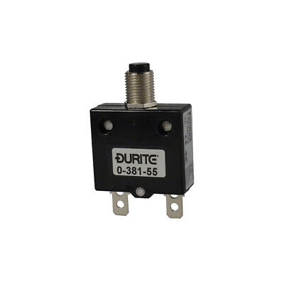 12v 24v Thermal Resettable Circuit Breaker Panel Mount 5-45A Rating - Durite