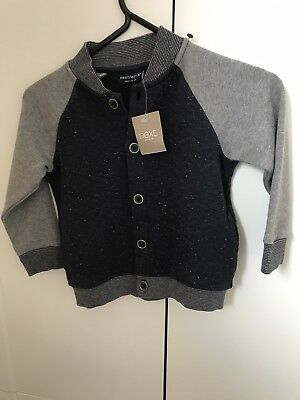 Bnwt Boys Cardigan 12-18 Months Next
