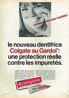 Other Breweriana Publicite Advertising 034 1959 Colgate Dentifrice Phosphaté Be Novel In Design