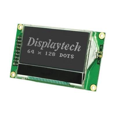 1 x Displaytech Graphic Transflective LCD Monochrome Display Black, LED Backlit