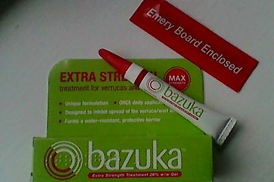 Bazuka Extra Strength Gel Treatment For Veruccas And Warts - 6g genuine uk stock