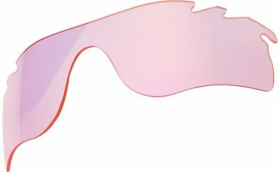 Replacement Lenses For Oakley Radarlock Path Sunglasses Light Pink Mirror Vented