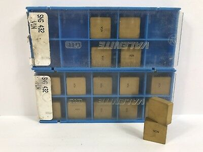 VALENITE SNG432 SNGN120408 New Carbide Inserts Grade V1N 16pcs G