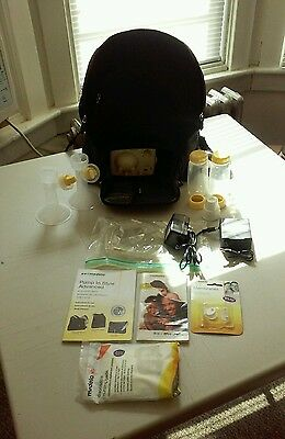 Medela Pump In Style Advanced Double Electric Breast Pump Backpack + Accessories