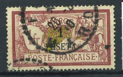 French Morocco 1902 Yv. 16 Used 100% Surcharged