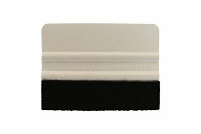 "ABN Felt Edge Squeegee 4"" Inch for Applying Automotive Graphics Decals Vinyl ..."
