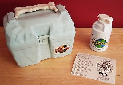 The Flintstones ~ Lunch Box & Thermos ~ Never Used