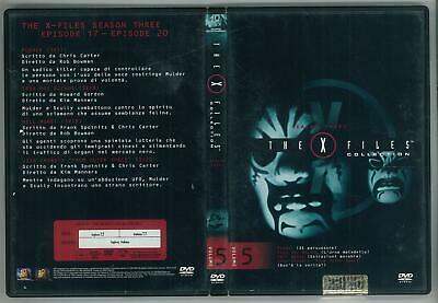 The X Files Collection Stagione 3 Volume 5 1993  Dvd Editoriale Ottimo Usato