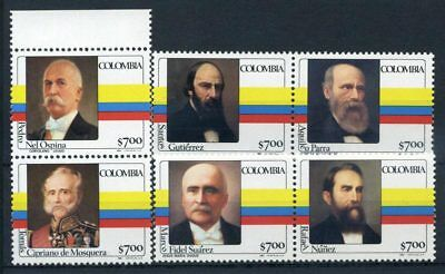 Colombia 1981 MNH 100% Presidents'