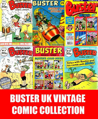 Buster UK Vintage Comic Collection on DVD 329 Books Magazines & Comics
