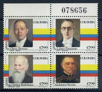 Colombia 1981 MNH 100% Presidents