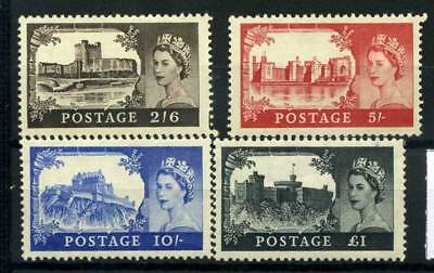 Great Britain 1955 Mi. 278-281 MNH 100% Castles Elizabeth II
