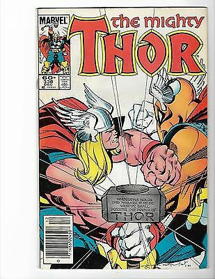 The Mighty THOR -- Lot of EIGHT #338, 339, 340, 341, 342, 343, 344, 345 346