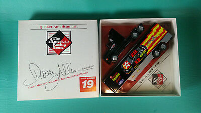 WINROSS American Racing Scene Davey Allison #28 Texaco Hauler MADE IN USA MIB!
