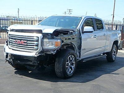 2016 GMC Canyon SLE 2016 GMC Canyon SLE Crew Cab 4WD Wrecked Salvage Low Miles Save on Salvage L@@K!