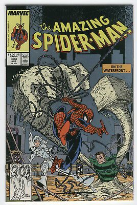 Amazing Spider-Man #303 Silver Sable and The Sandman McFarlane Art NM-