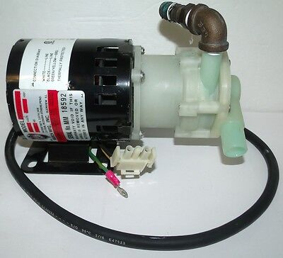 March 1082-001-10 Motor And Pump - 1/40Th Hp 3500Rpm