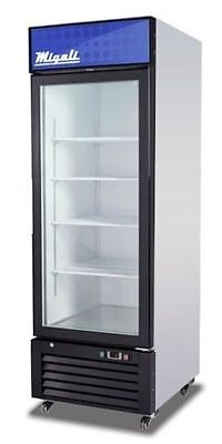 Migali C-23Rm Commercial Single Glass Door Merchandiser Refrig, Free  Delivery!