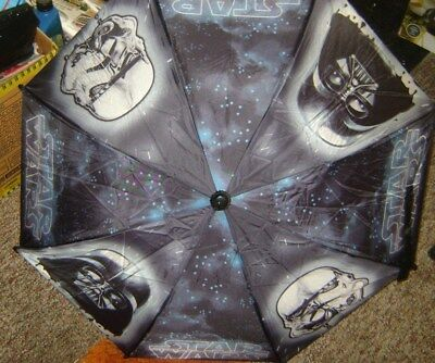 Star Wars Darth Vader Stormtrooper Kids Umbrella NEW