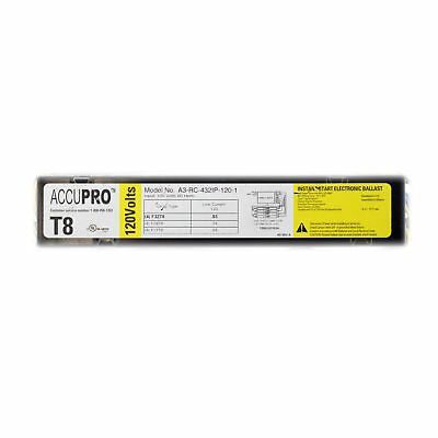 Accupro A3-432Ip-120-1 Instant Electronic Ballast, 4-Lamp, F32T8, 32W T8, 120V