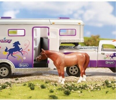 Stablemates Horse Crazy Truck and Gooseneck Trailer