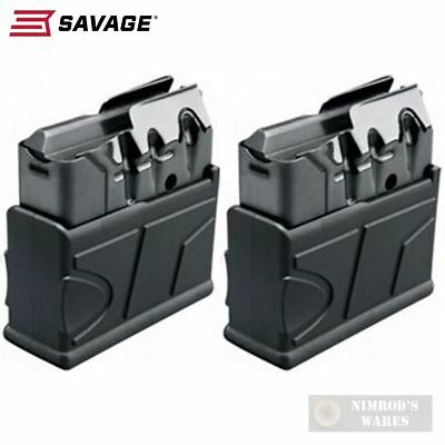 TWO SAVAGE 10 FCP-SR Scout .308 Winchester 10 Round MAGAZINES 55185 FAST SHIP