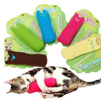 Soft Interactive Fancy Catnip Cat Pillow Toy Teeth Grinding Claws For Pets Toys