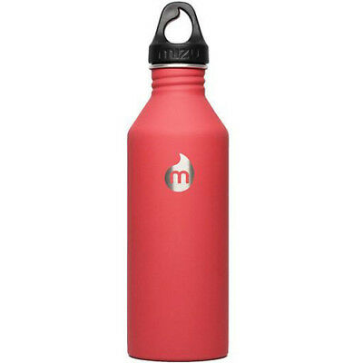 Mizu M8 W Loop Cap Unisex Accessory Water Bottle - Soft Touch Red One Size