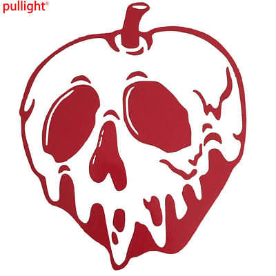 Disney Poison Apple Window Decal White New!