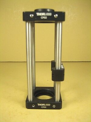"""ThorLabs  30mm Cage Assembly  2EA- CP02  1EA- CP02B  4"""" Rails"""