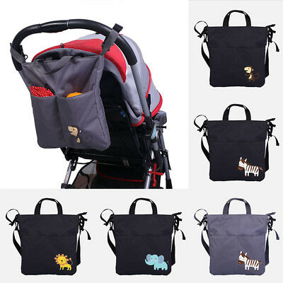 Baby Stroller Hanging Bag Pushchair Large Capacity Hanging Bag Baby Supplies